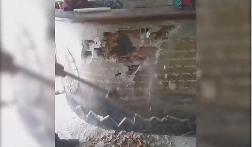 Fenu zerstörte sein Lokal