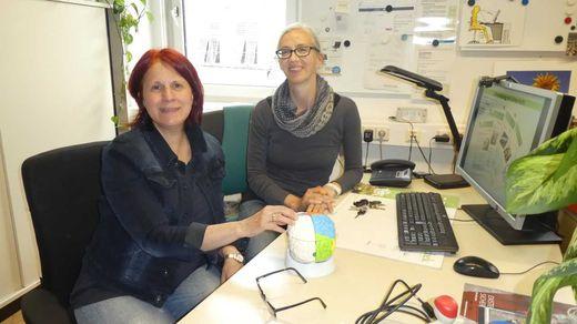 Pauline Jöbstl und Cosima Pilz (links) wollen ein Bewusstsein für Umwelt und Gesundheit schaffen