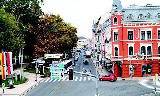 Verkehrskonzept, Spittal, Tiroler Straße