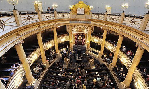 Schon 1981 Ziel eines Anschlags: Die Wiener Synagoge