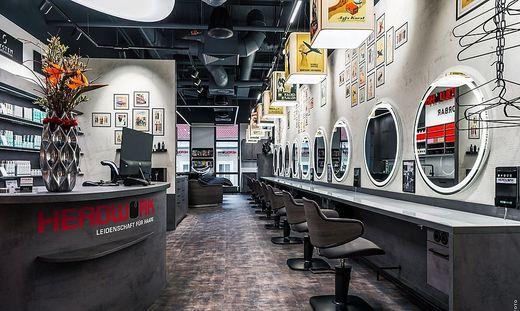 In den letzten Wochen wurde der Friseursalon komplett umgebaut.