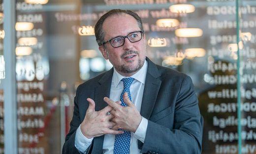 Der Ball liege nun in der Schweizer Hälfte des Spielfelds, sagt Außenminister Alexander Schallenberg