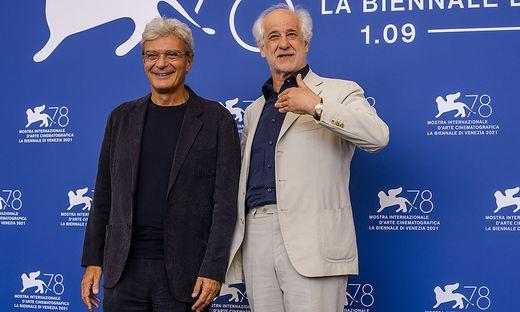 Regisseur Mario Martone mit Schauspieler Toni Servillo