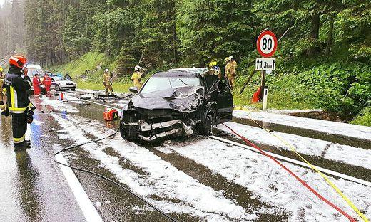 Bei einem tragischen Verkehrsunfall am Felbertauern starb ein 70-Jähriger, Mittersill, Salzburg, Osttirol, Benjamin Karl, Snowboardweltmeister