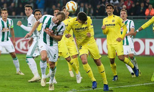 SOCCER - UEFA EL, Rapid vs Villarreal
