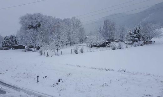 Winter im Mürztal