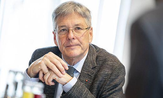 Interview LH Peter Kaiser Klagenfurt Jaenner 2021