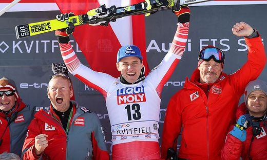 Matthias Mayer siegte in Kvitfjell