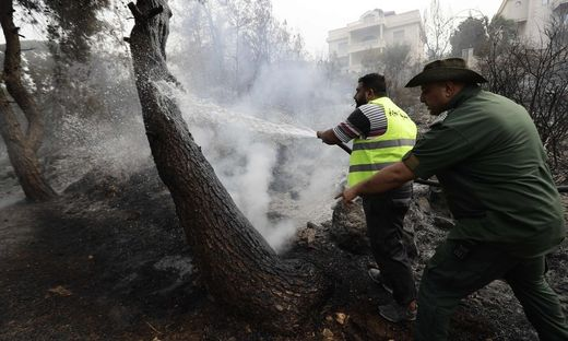 LEBANON-FIRE