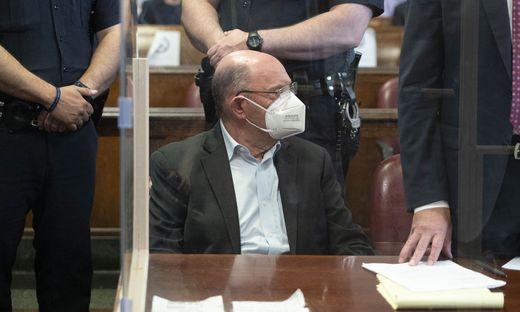 Allen Weisselberg im Gerichtssaal