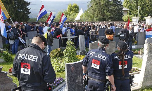 Bei Gesetzesverstößen wird rigoros durchgegriffen, kündigt die Polizei im Vorfeld des Treffens auf dem Loibacher Feld an