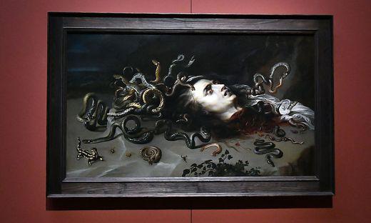 """""""Das Haupt der Medusa"""" von Peter Paul Rubens"""