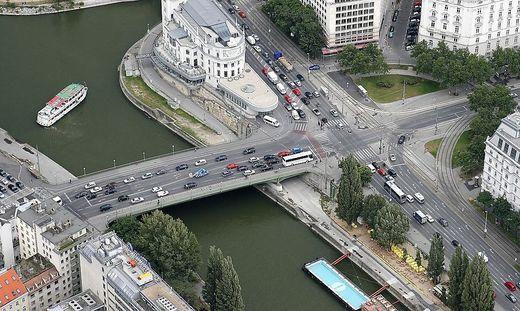 Die Leiche wurde im Donaukanal entdeckt