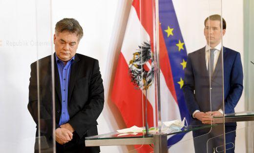 Turbulente Woche: Vizekanzler Kogler, Kanzler Kurz