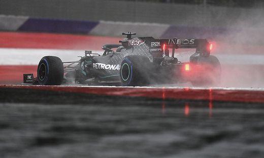 Lewis Hamilton holte sich die Pole-Position