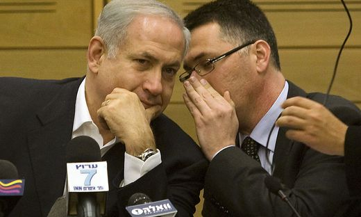Benjamin Netanyahu, Gidon Saar