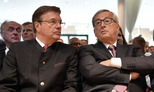 EUROP�ISCHES FORUM ALPBACH 2016 - FESTAKT ANL. ER�FFNUNG DES NEUEN CONGRESS CENTRUMS / PLATTER, JUNCKER, FISCHER