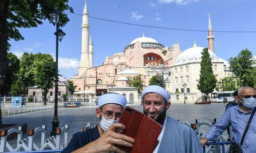 Die Hagia Sophia soll eine Moschee werden