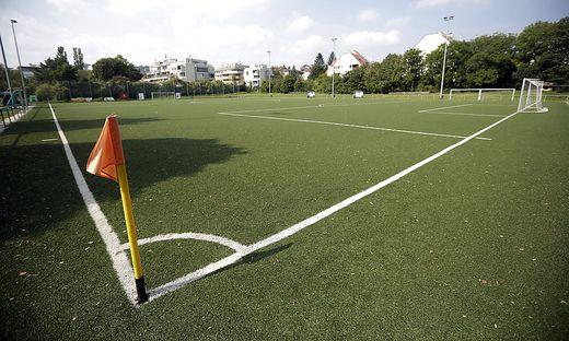 In Erfurt ist das Fußballsplatz zukünftig leer