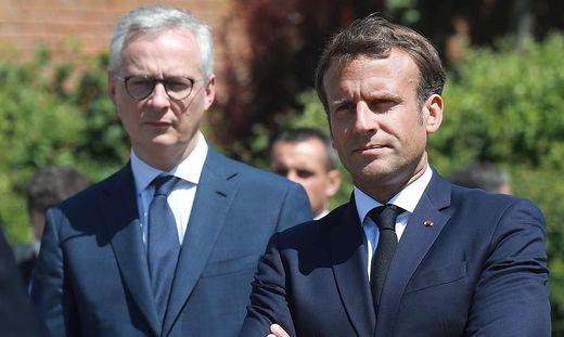 Bruno Le Maire, Macron