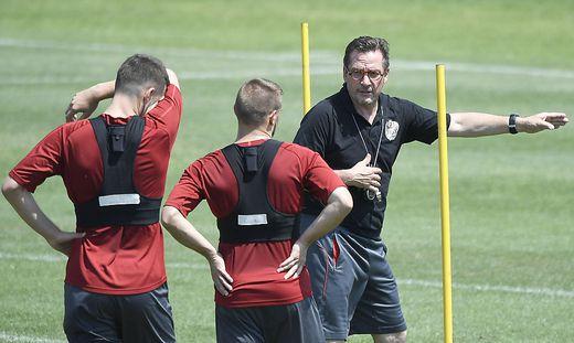 Werner Gregoritsch kehrt zurück auf die Trainerbank