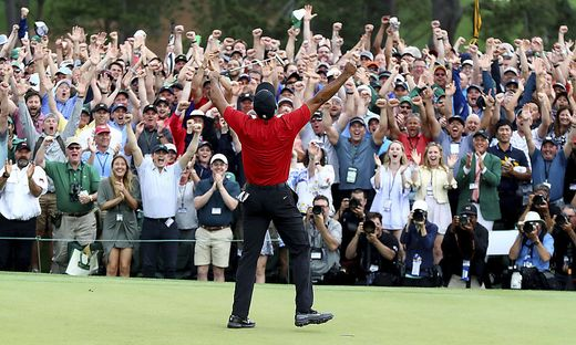 Tiger Woods, Masters Agusta