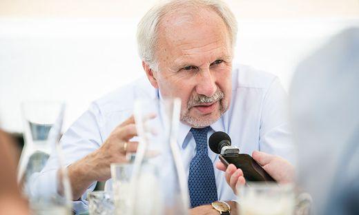 Notenbank-Gouverneur Ewald Nowotny