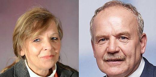 Germann (SPÖ) und Koch (ÖVP)
