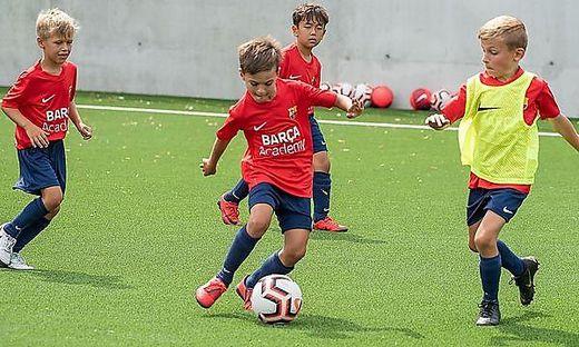 Das Barcelona-Fußballcamp ist eine einmalige Chance für Kärntens Talente