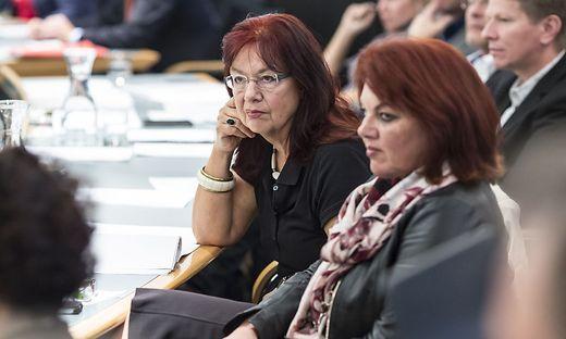 Andrea Wulz (rechts) und Evelyn Schmid-Tarman wollen Grüne-Werte bewahren