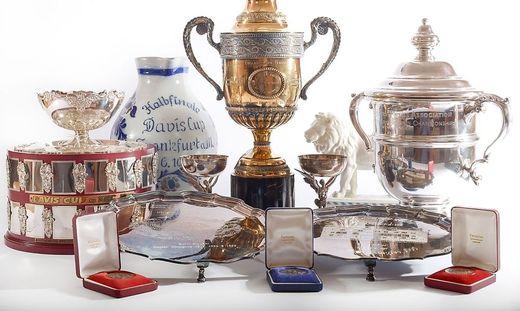 Boris Becker, trophys