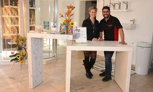 Madeleine Fellner, Andreas Rauter: Spende für Diakonie