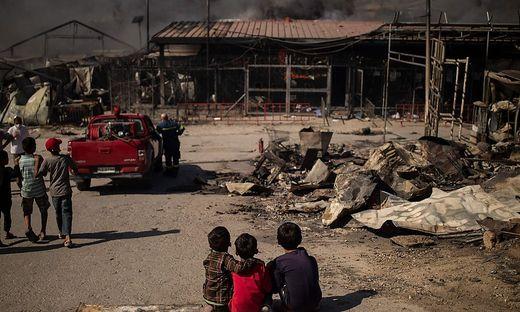 Der Brand von Moria durchkreuzte die Hilfe vor Ort, die Kinder waren die Leidtragenden.