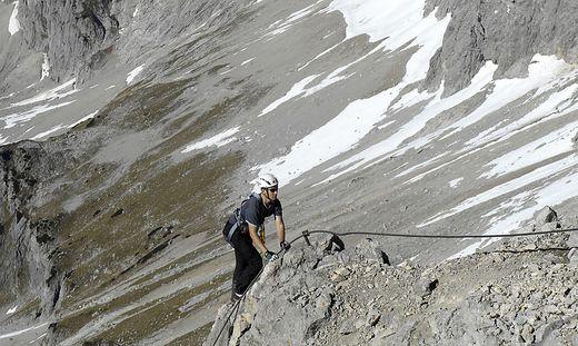 Klettersteig Johann Dachstein : Ramsau: stein traf 31 jährigen kletterer am knie « kleinezeitung.at