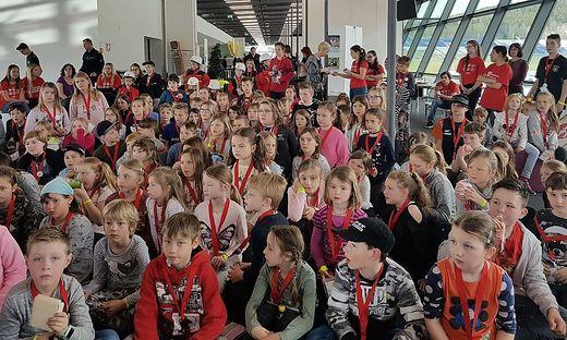 Großes Interesse: Kinder reagieren in den Osterferien am Red-Bull-Ring