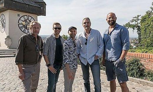 Das Soko-Donau-Team am Schloßberg