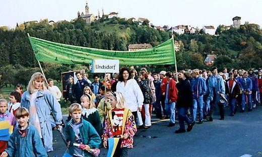 Stadterhebung Althofen Umzug