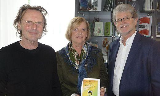 Johann Assinger, Christine Partl und Ernst Schneeberger