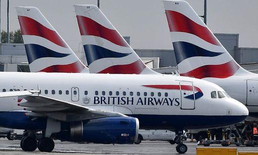 Die meisten British Airways-Maschinen bleiben heute am Boden