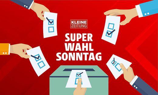 Der Wahltag verspricht Hochspannung.