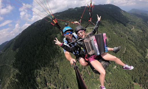 Melissa Naschenweng geht am Schöckl in die Luft