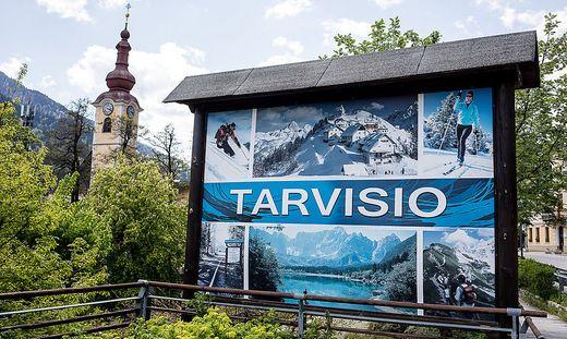 Italiener, die sonst weite Bögen um das Städtchen zogen, fanden im Sommer 2020 nach Tarvis.