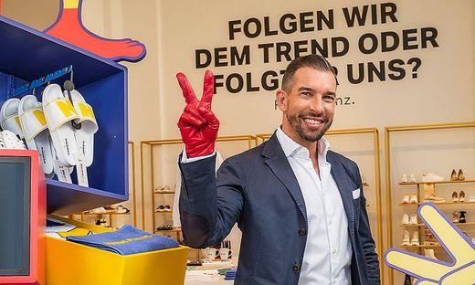 Michael Rumerstorfer, Vorstand bei Leder&Schuh