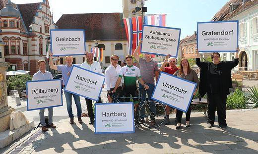 In zahlreichen Gemeinden wird in der Weltradsportwoche geradelt