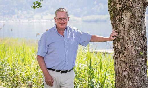 Christof Zernatto, langjähriger Landeshauptmann von Kärnten