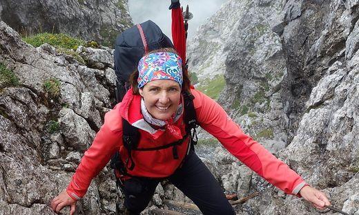 """Gabi Schluga ist glücklich, Bergretterin zu sein: """"Im Gegenzug bringe ich mich ein und helfe"""""""
