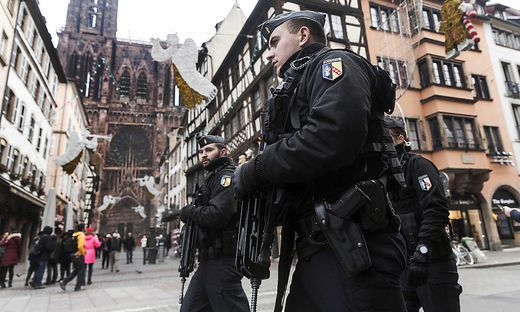 Starke Kontrollen in Straßburg