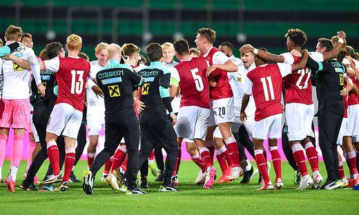 SOCCER - UEFA U21 EURO Quali, AUT vs AZE