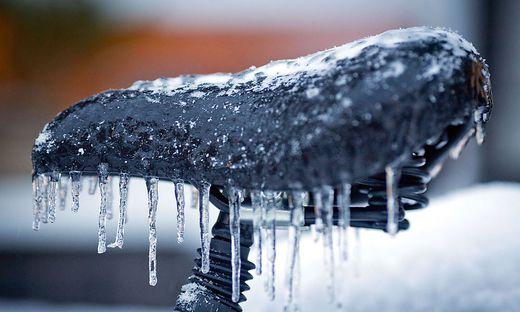 """""""Warm anziehen"""", heißt es in den kommenden Tagen, der Winter zieht ins Land"""
