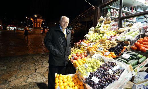 Valentin Inzko in Sarajevo. Der österreichische Diplomat überwacht seit 2009 als Hoher Repräsentant in Bosnien die Einhaltung des Dayton-Vertrags